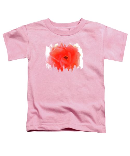Peachy Keen Toddler T-Shirt by Anita Faye