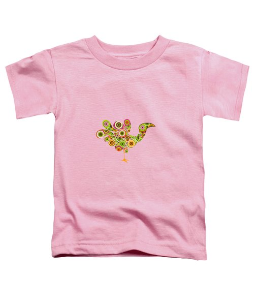 Peafowl Toddler T-Shirt by BONB Creative