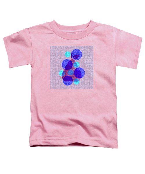 Pear In Blue Toddler T-Shirt by Coco Des
