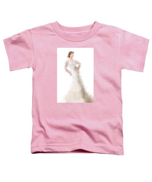 Toddler T-Shirt featuring the digital art Penelope by Nancy Levan
