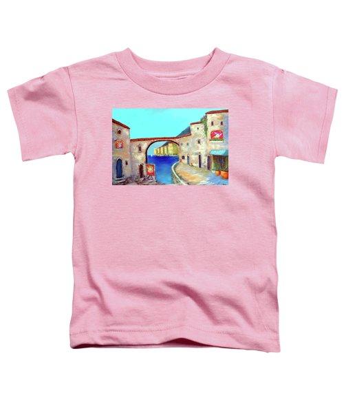 Piazza Del La Artista Toddler T-Shirt