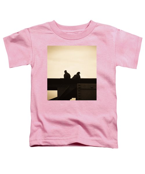 Pigeon And Steel Toddler T-Shirt