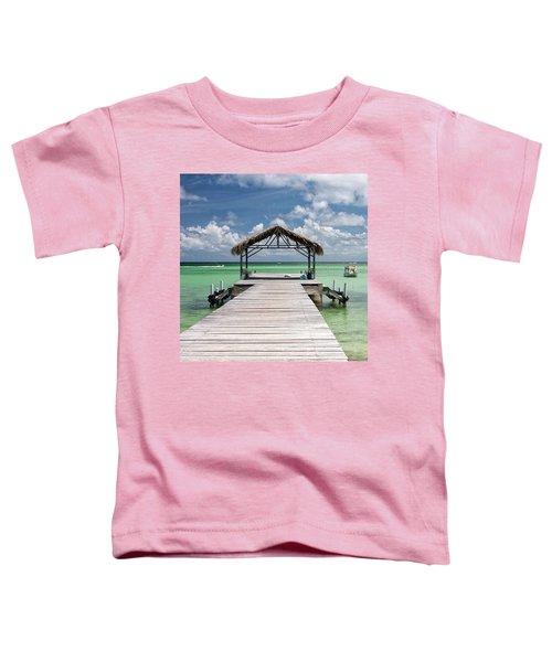 Pigeon Point, Tobago#pigeonpoint Toddler T-Shirt by John Edwards