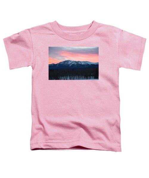 Sunrise Pikes Peak Co Toddler T-Shirt