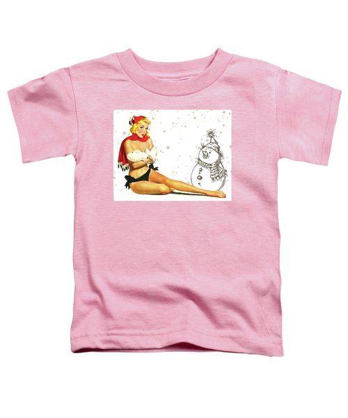 Pin-up Holiday Seasons Toddler T-Shirt