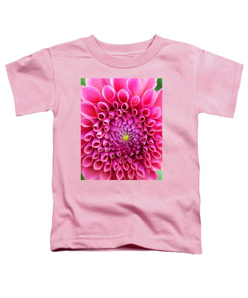 Pink Flower Close Up Toddler T-Shirt