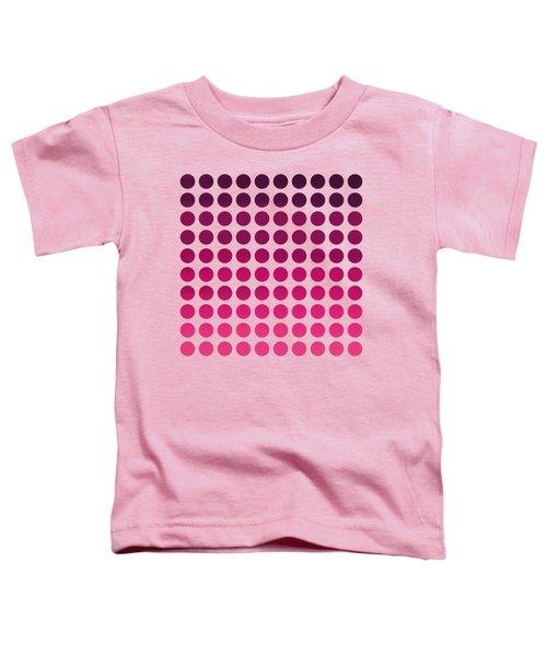 Pink Polka Dots Toddler T-Shirt