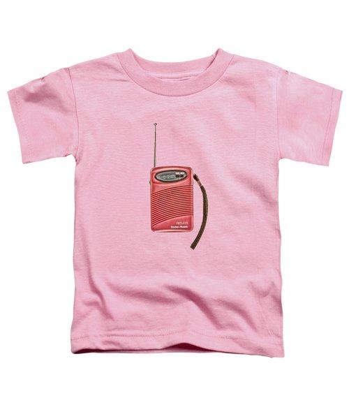 Pink Radio Toddler T-Shirt