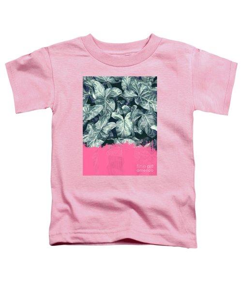 Pink Sorbet On Jungle Toddler T-Shirt