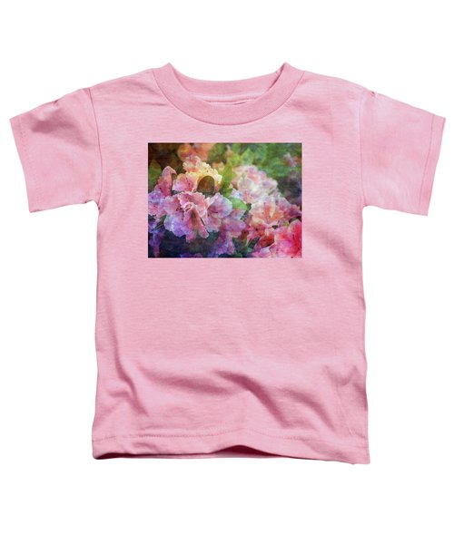 Pink With White Frills 1503 Idp_3 Toddler T-Shirt