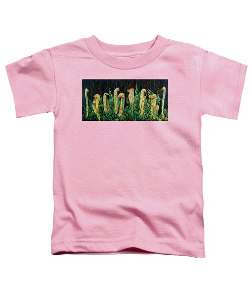 Pitcher Plant Promenade  Toddler T-Shirt