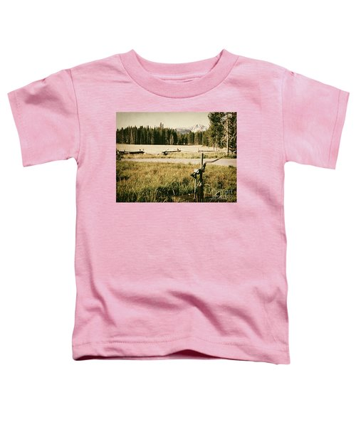 Pitcher Pump Toddler T-Shirt