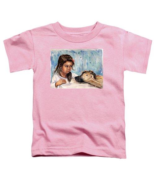 Please, Don't Go Away Toddler T-Shirt