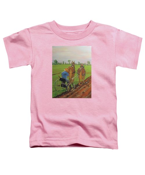 Plowing Match Toddler T-Shirt