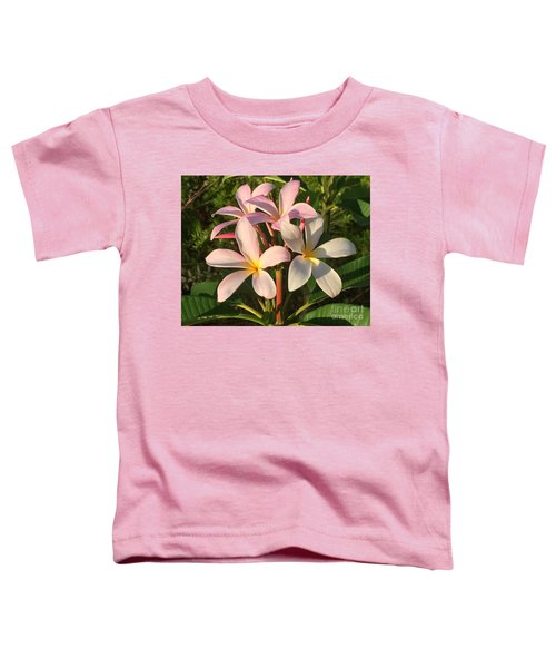 Plumeria Heaven Toddler T-Shirt