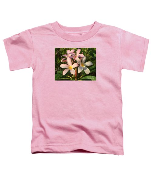 Plumeria Heaven Toddler T-Shirt