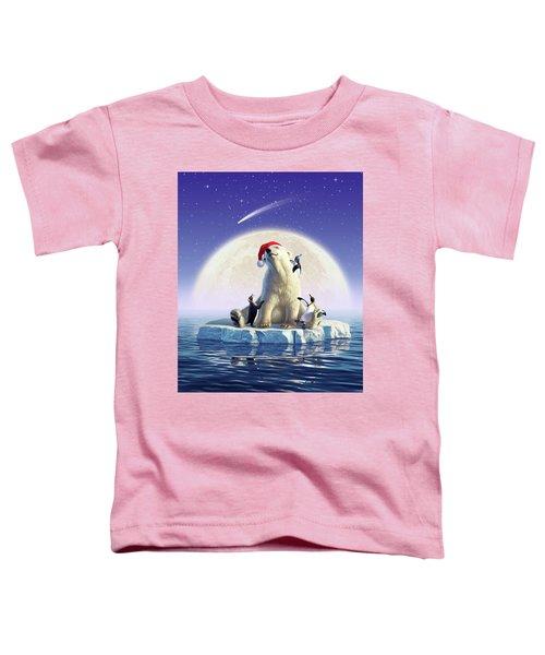 Polar Season Greetings Toddler T-Shirt