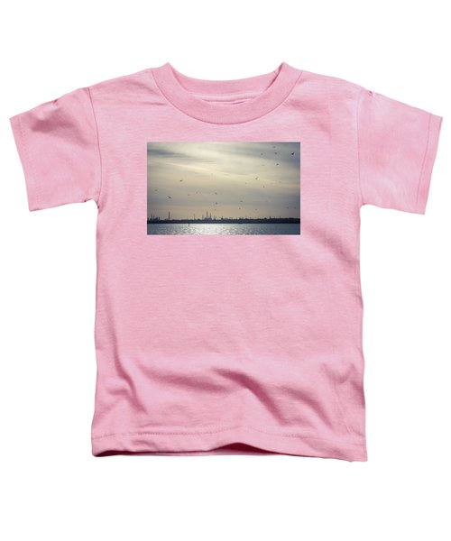 Power By The Sea Toddler T-Shirt