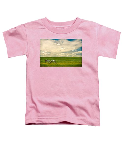 Prairie Horses Toddler T-Shirt