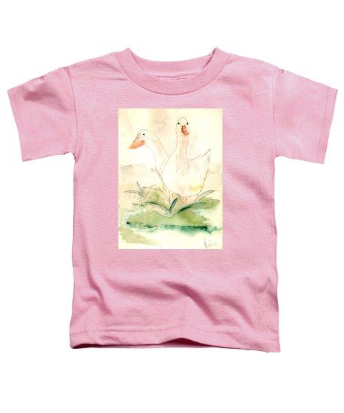 Pretty Pekins Toddler T-Shirt