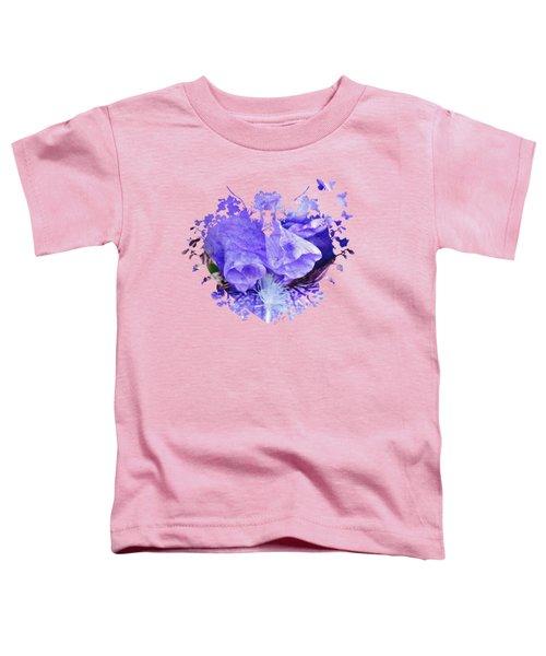 Pretty Purple Toddler T-Shirt by Anita Faye