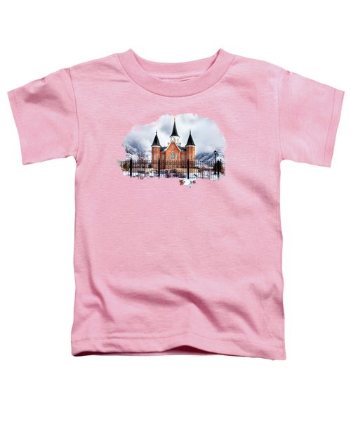 Provo City Center Temple Toddler T-Shirt