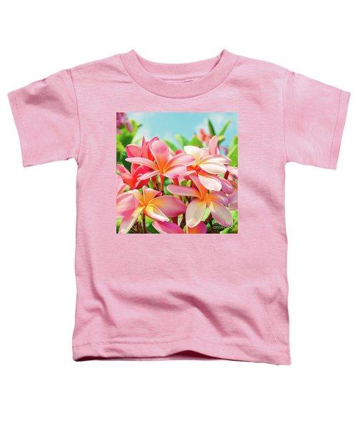 Pua Melia Ke Aloha Maui Toddler T-Shirt