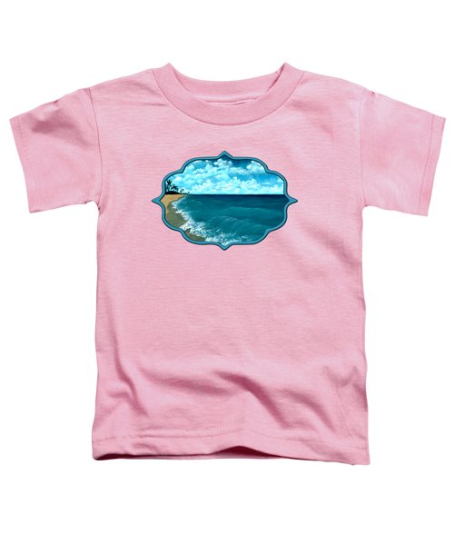 Punta Cana Beach Toddler T-Shirt