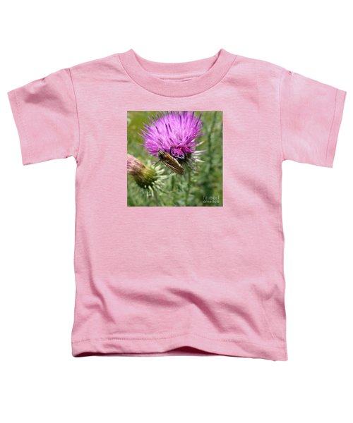 Purple Dandelions 1 Toddler T-Shirt