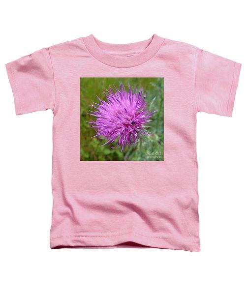 Purple Dandelions 2 Toddler T-Shirt