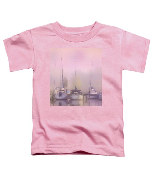 Purple Marina Morning Toddler T-Shirt
