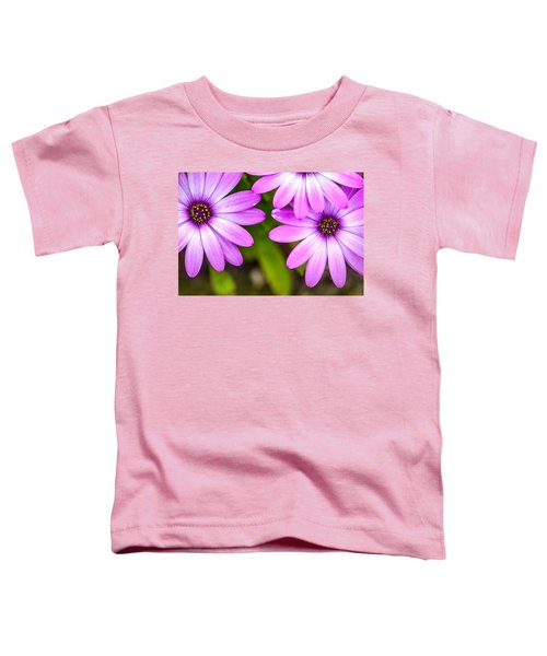 Purple Petals Toddler T-Shirt