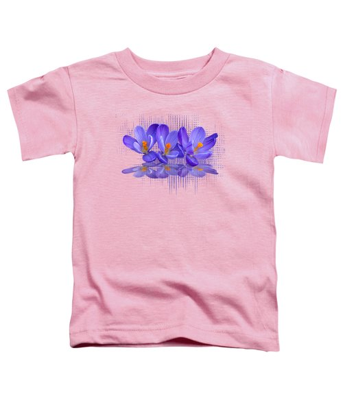 Purple Rain Triple Toddler T-Shirt