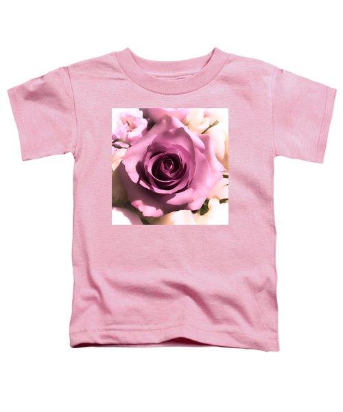 Purple Rose Toddler T-Shirt