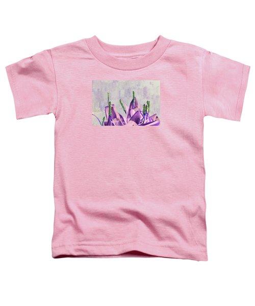 Purple Water Plant Toddler T-Shirt