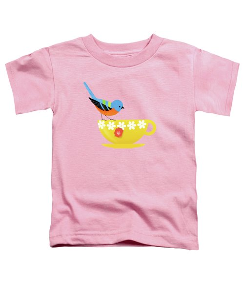 Put The Kettle On Toddler T-Shirt by Little Bunny Sunshine