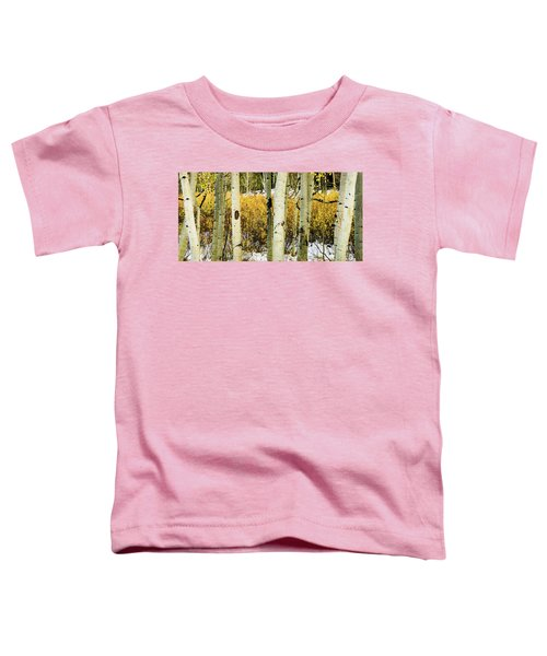 Quakies And Willows In Autumn Toddler T-Shirt