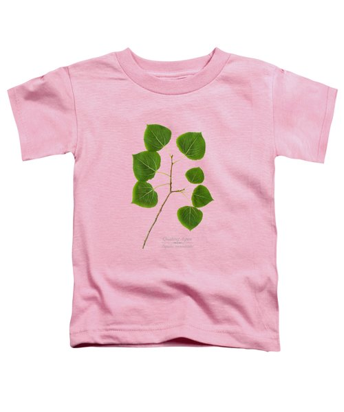 Toddler T-Shirt featuring the photograph Quaking Aspen by Christina Rollo