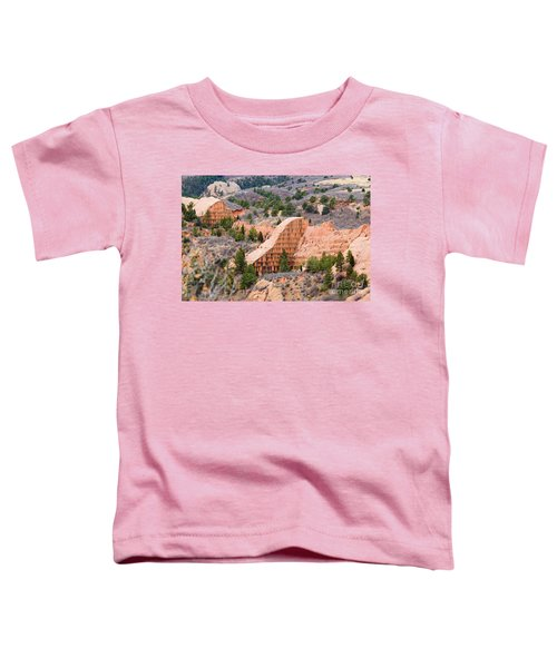 Quarry At Red Rock Canyon Colorado Springs Toddler T-Shirt
