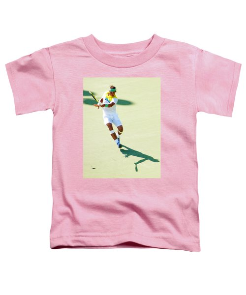 Rafael Nadal Shadow Play Toddler T-Shirt