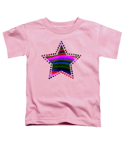 Rainbow Waves Toddler T-Shirt