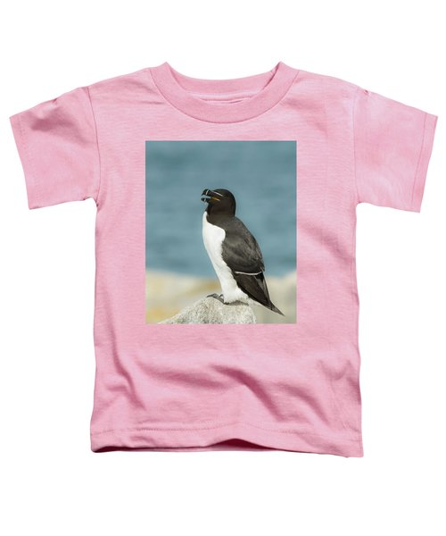 Razorbill Portrait Toddler T-Shirt