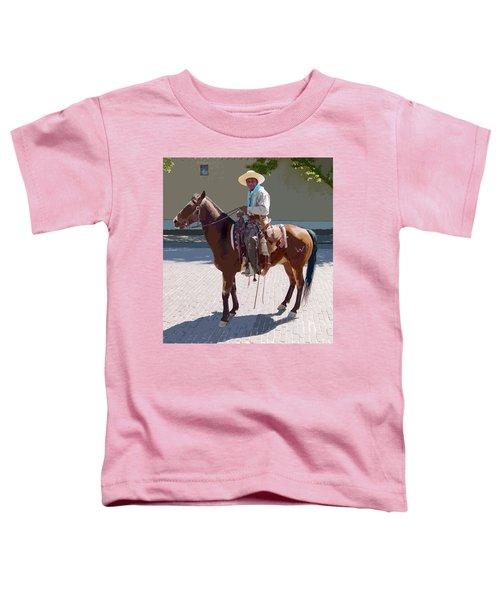Real Cowboy Toddler T-Shirt