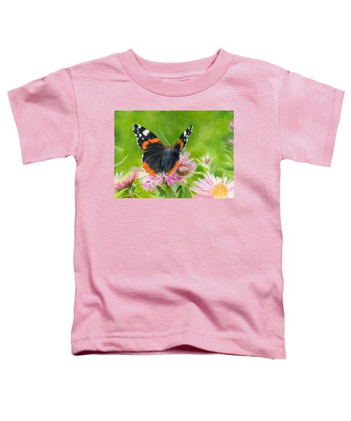 Red Admiral Toddler T-Shirt