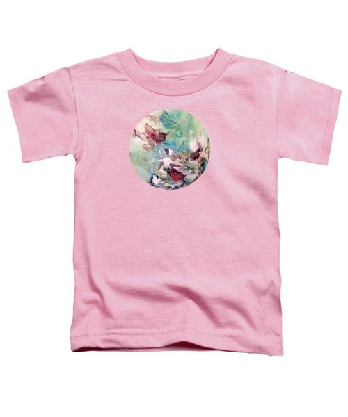 Red Birds In Winter Toddler T-Shirt
