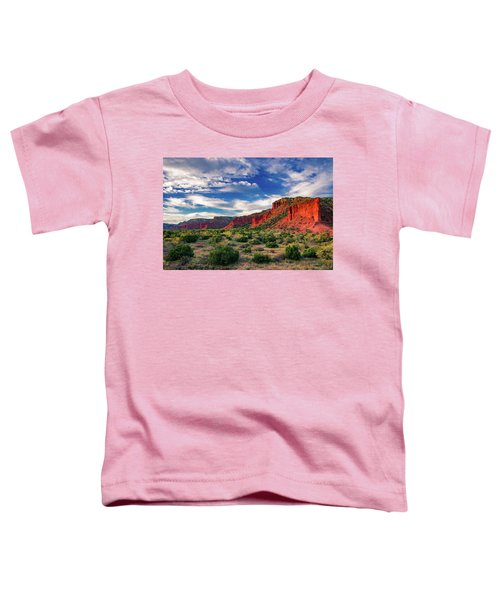 Red Cliffs Of Caprock Canyon 2 Toddler T-Shirt