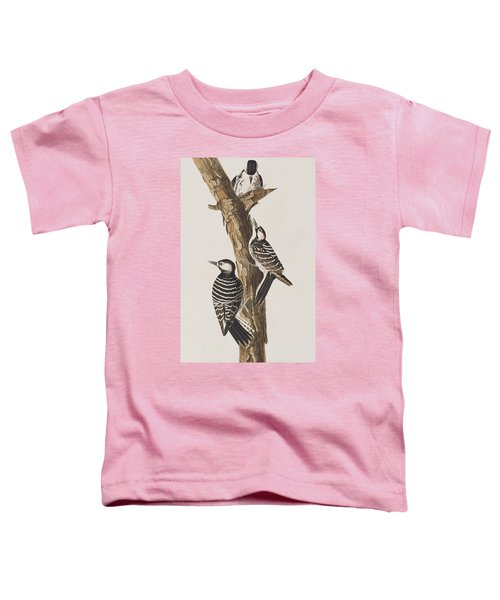 Red-cockaded Woodpecker Toddler T-Shirt by John James Audubon
