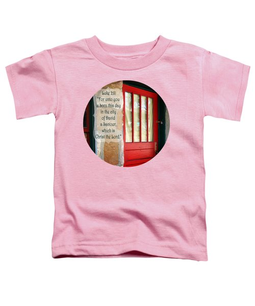Red Door - Verse Toddler T-Shirt