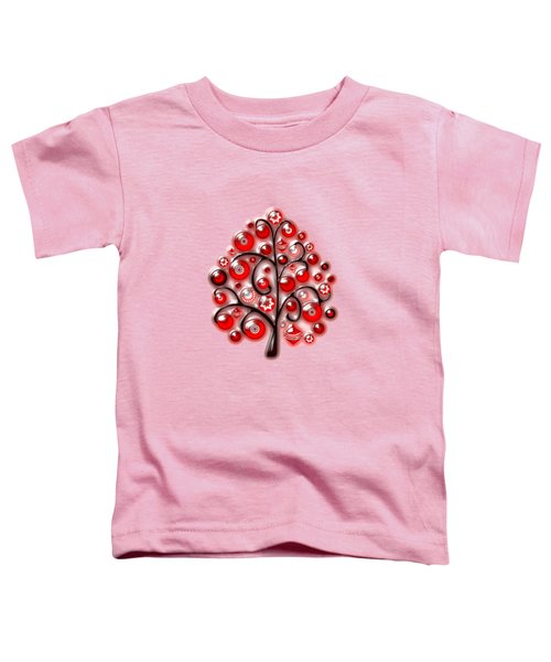 Red Glass Ornaments Toddler T-Shirt