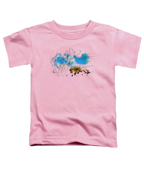 Red Red Robin 3 Toddler T-Shirt